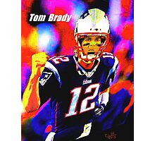 Tom Brady Photographic Print