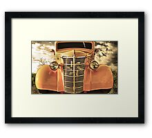 A Dream Car Framed Print