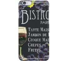Bistro Paris iPhone Case/Skin