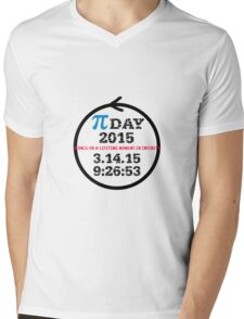 Celebrate Pi Day 2015! Mens V-Neck T-Shirt