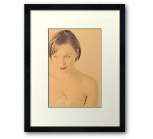 mel Framed Print