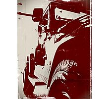 Buckeye Jeep Photographic Print