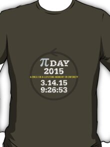 Celebrate Pi Day 2015 T-Shirt