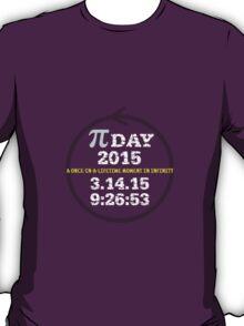 Celebrate Pi Day 2015 T-Shirt