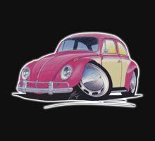 VW Beetle (2-Tone) Pink Kids Clothes