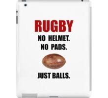 Rugby Balls iPad Case/Skin