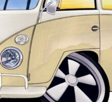 VW Splitty (11 Window) Camper Sticker