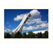 Olympic Stadium ~ Montreal Art Print