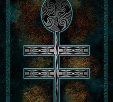 Dragonfly Cross by Sena