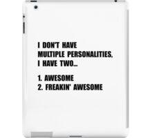 Two Personalities iPad Case/Skin