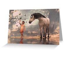At Waters Edge Greeting Card