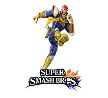 Super Smash Bros. 3DS/Wii U Captain Falcon Photographic Print