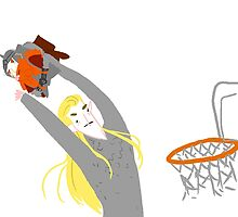 THRANDUIL SLAM DUNKS GIMLI  by curioscurio