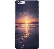 December iPhone Case/Skin