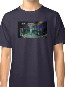 TARDIS Interior - Doctor Who Classic T-Shirt