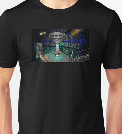 TARDIS Interior - Doctor Who Unisex T-Shirt