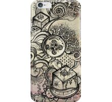 Psychedelic journey (coloured) iPhone Case/Skin