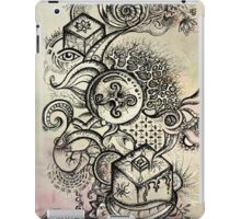 Psychedelic journey (coloured) iPad Case/Skin