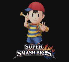 Super Smash Bros. 3DS/Wii U Ness by KwanChau