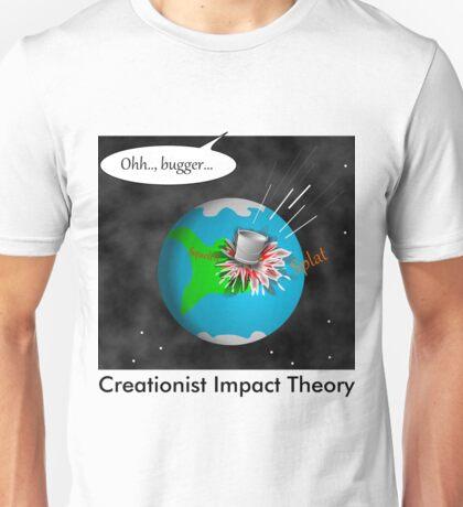 Creationist Impact Theory Unisex T-Shirt
