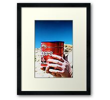 Dude Can Framed Print
