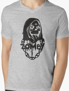 Zomby Mens V-Neck T-Shirt