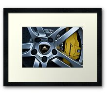 Breaking The Rules Framed Print