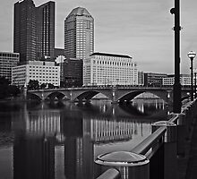 Columbus, Ohio Skyline by Robert Daveant