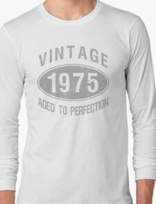 Vintage 1975 Birthday Long Sleeve T-Shirt