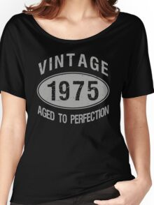 Vintage 1975 Birthday Women's Relaxed Fit T-Shirt