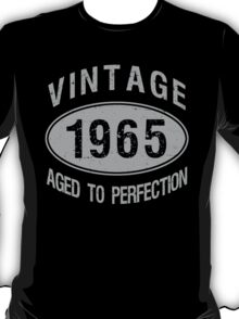 Vintage 1965 Birthday T-Shirt