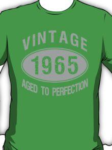 Vintage 1965 Birthday T-Shirt