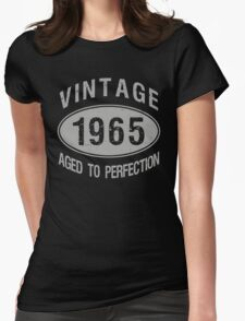 Vintage 1965 Birthday Womens Fitted T-Shirt