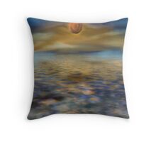 Mystery Sunset Throw Pillow