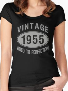 Vintage 1955 Birthday Women's Fitted Scoop T-Shirt