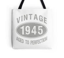 Vintage 1945 Birthday Tote Bag