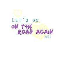 One Direction - On the road again by carolanneroyer