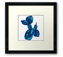 baloon dog Framed Print