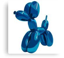 baloon dog Canvas Print