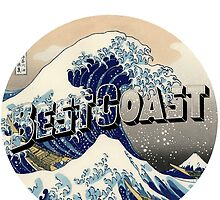 "Best Coast ""K"" by royalswan"