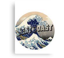 """Best Coast """"K"""" Canvas Print"""