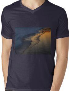 Freezing Over (6042) Mens V-Neck T-Shirt