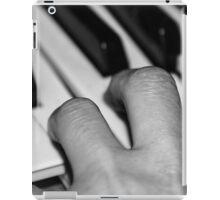 Hand and keyboard iPad Case/Skin