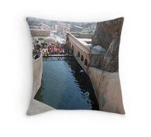 Hanuman Temple -  Jaipur, India Throw Pillow