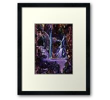 Mother of Pearls Garden Framed Print