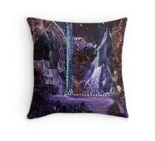 Mother of Pearls Garden Throw Pillow