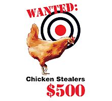 Chicken Stealer Photographic Print