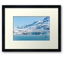 Tide Water Glacier Framed Print