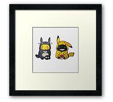 My Neighbor Pikachu Framed Print