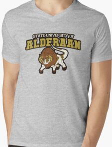 Aderaan State Home of the Nerfs! Mens V-Neck T-Shirt